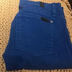 Blue 7 jeans